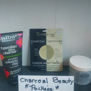 Other - Detox CHARCOAL Gift Set BODY DRENCH ALBA